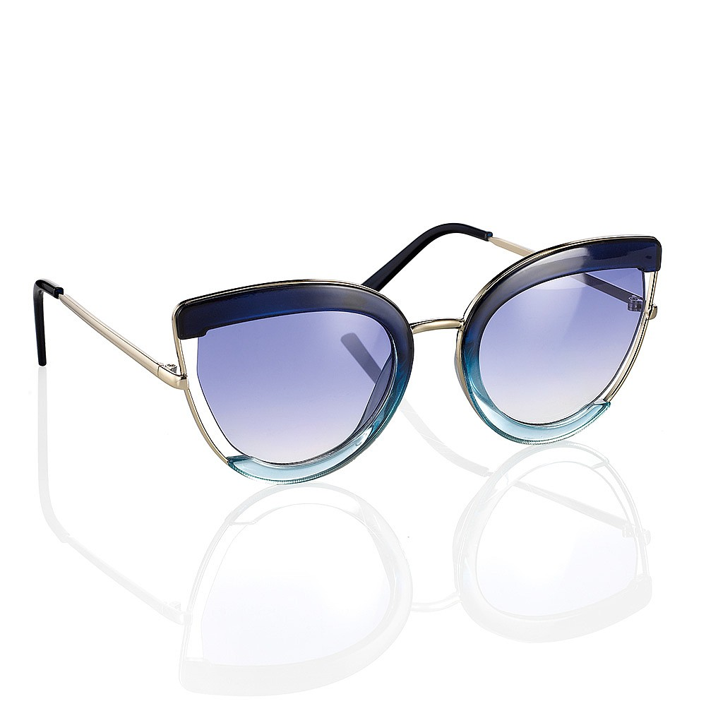 True Blue Butterfly Sunglasses