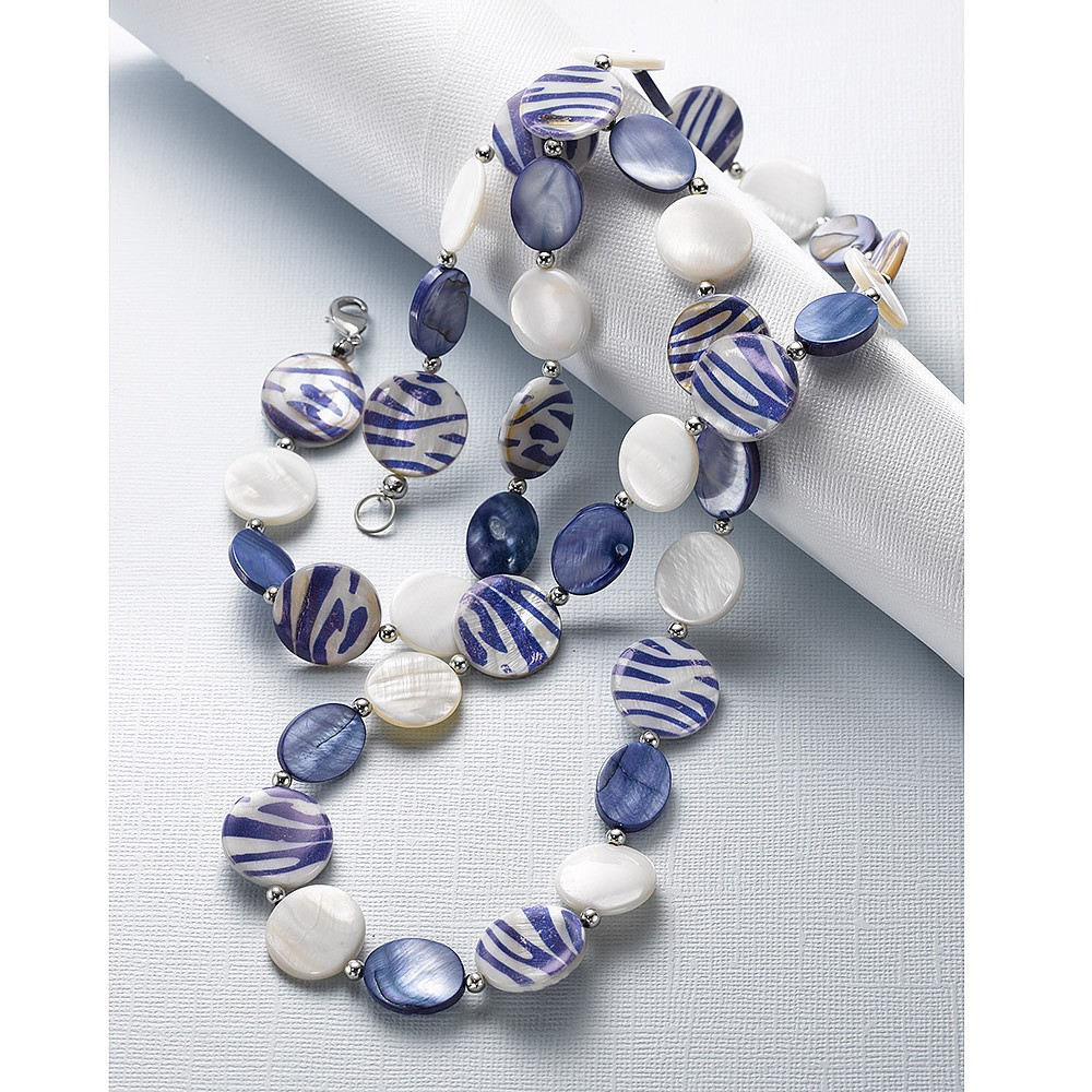 Walk On The Wild Side Shell Necklace