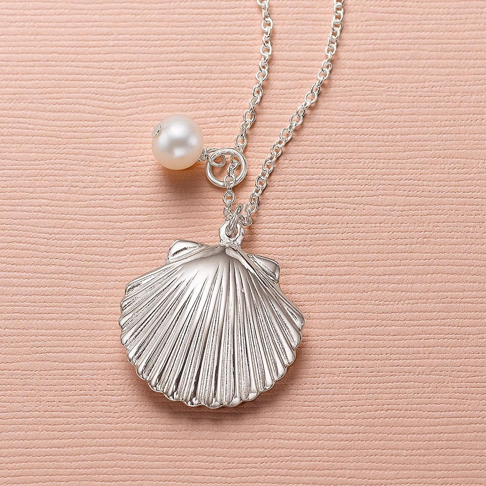 Mermaid's Treasure Silver Pendant