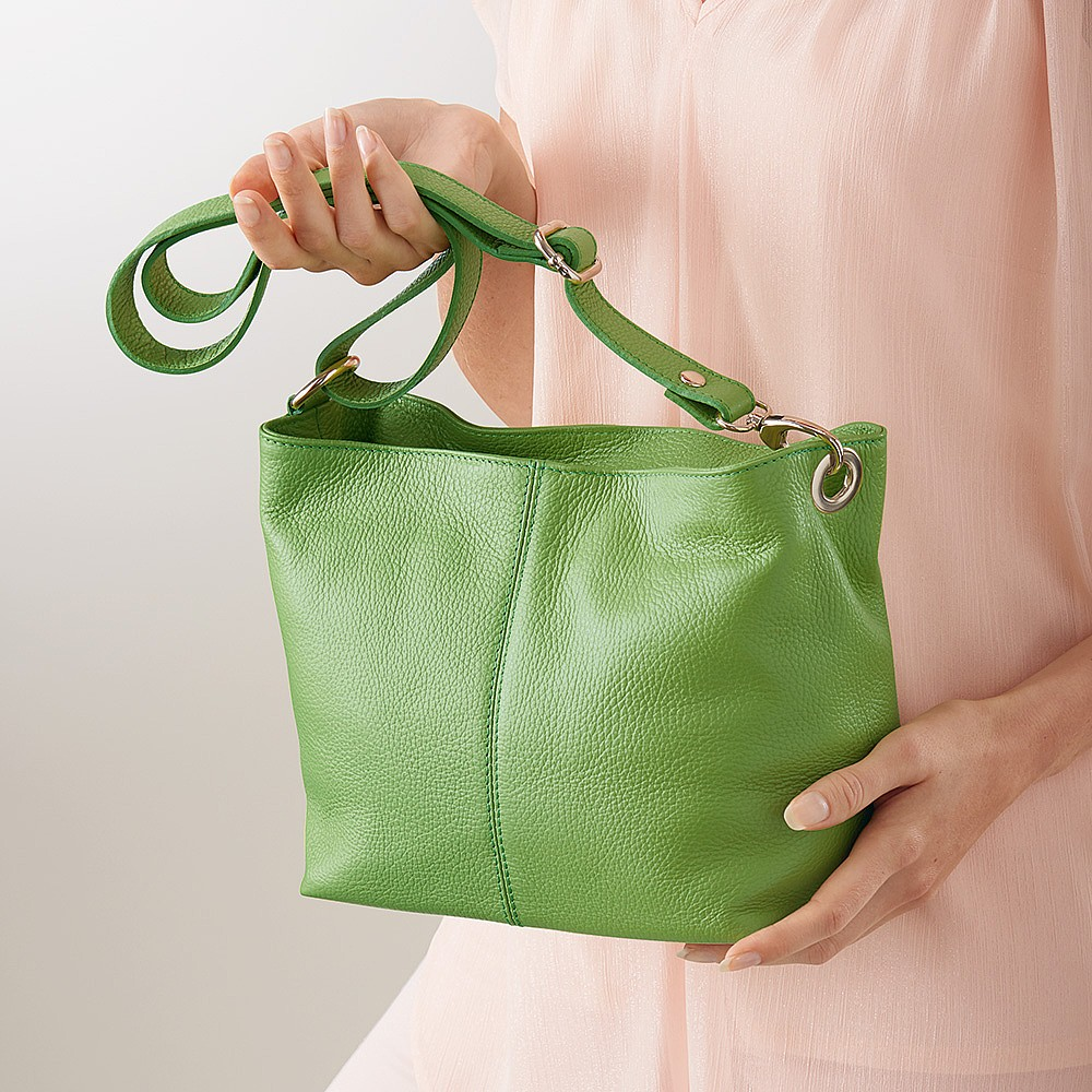 Key Lime Pie Leather Bag