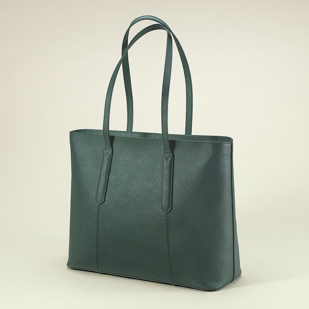 Heart of the Forest Leather Tote Bag