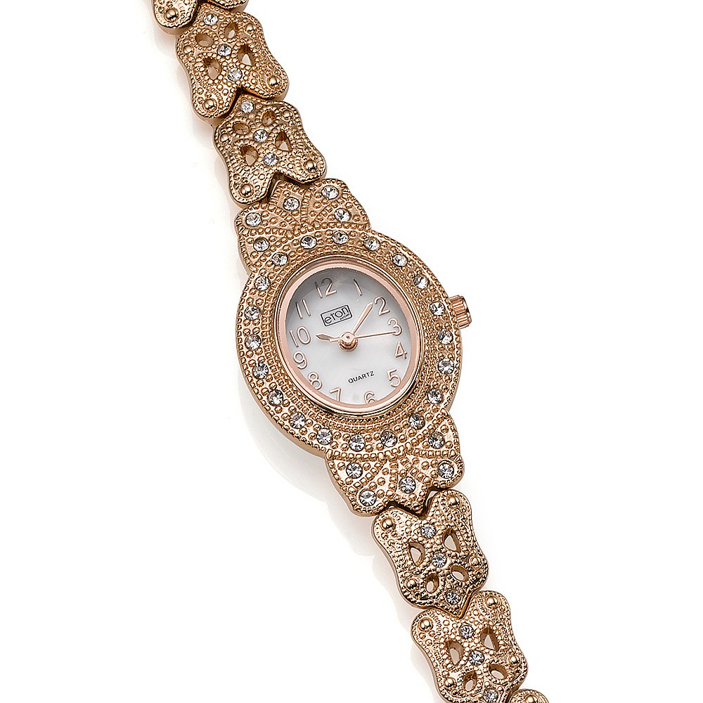 Time is Precious Rose-Gold Watch