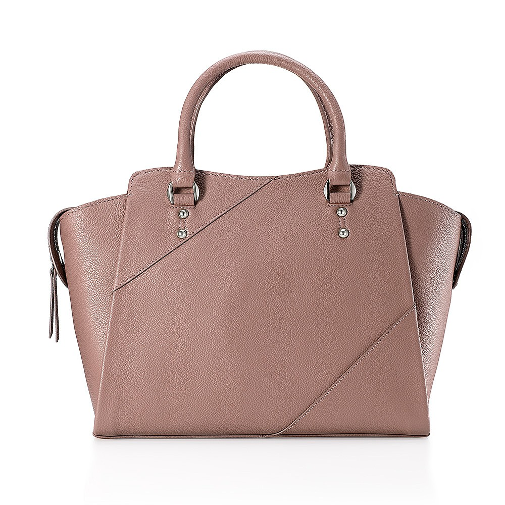 Uptown Girl Leather Tote Bag