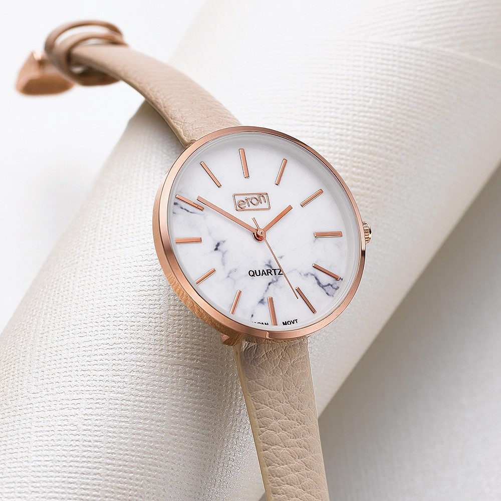 Take Your Time Vegan Leather Watch