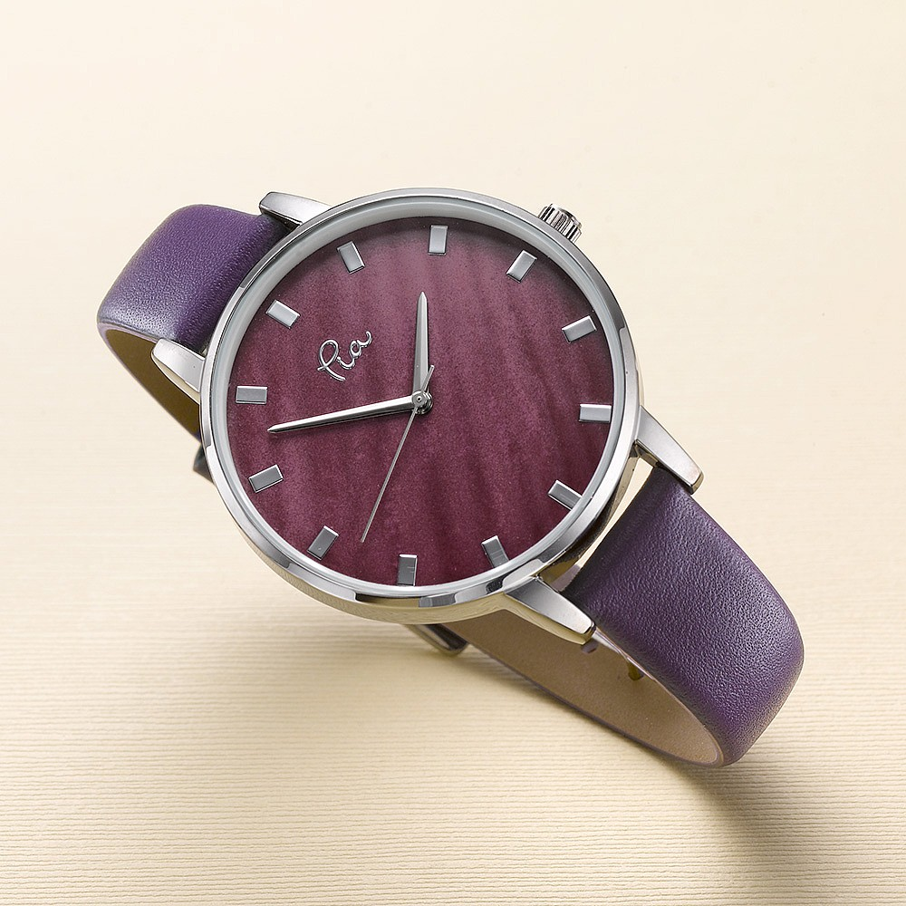 Through the Grapevine Leather Watch