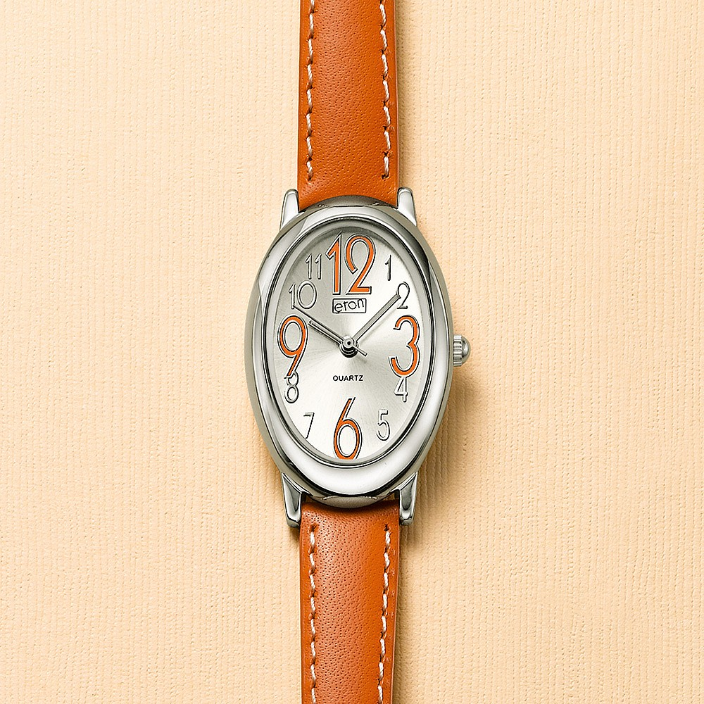 Tangerine Time Vegan-Leather Watch