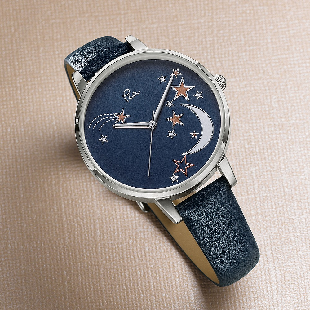 Time to Shine Leather Watch