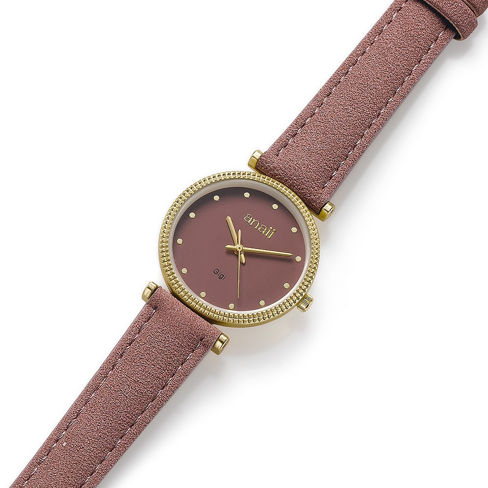 At First Blush Vegan-Leather Watch
