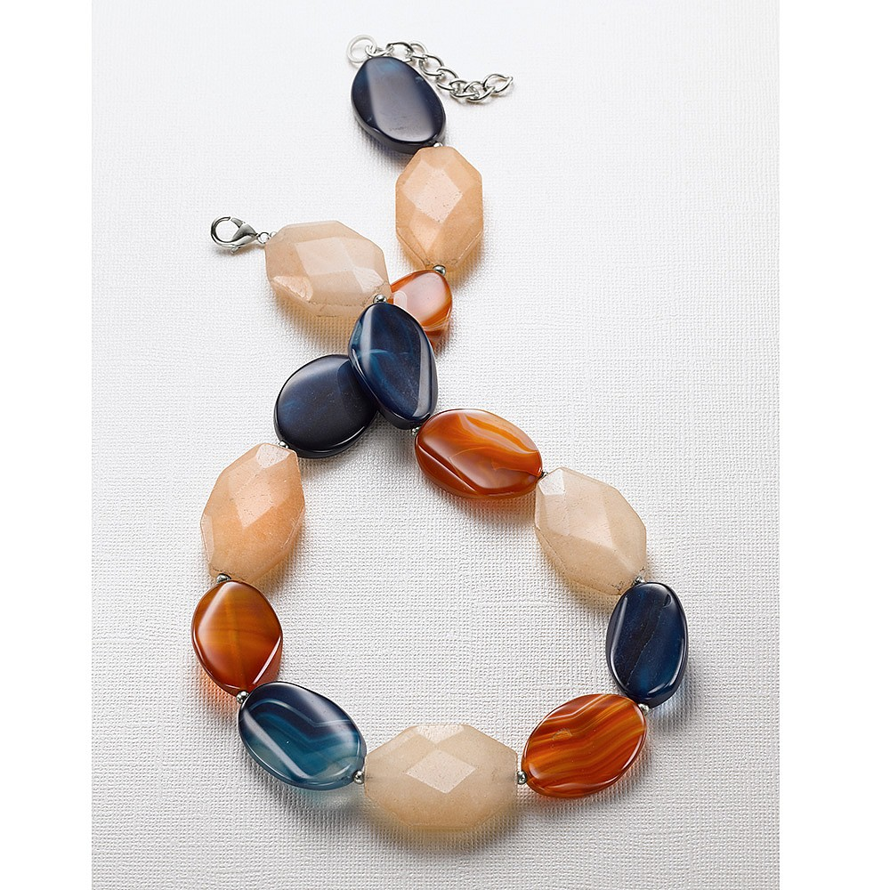 Electric Avenue Agate Necklace
