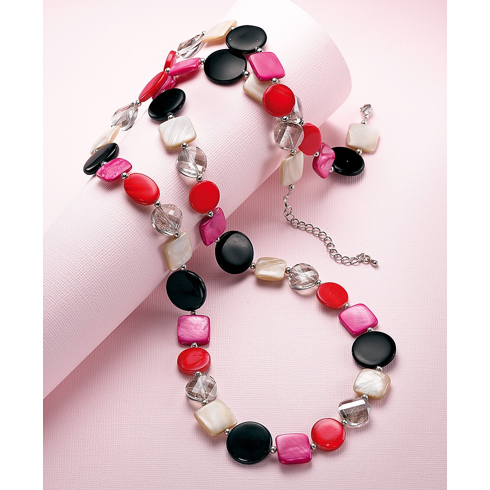 Life in Colour Shell Necklace