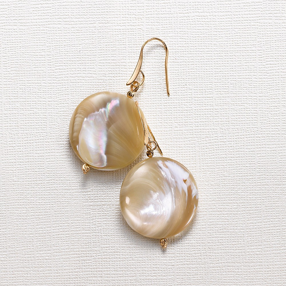 Dancing at Dawn Shell Earrings