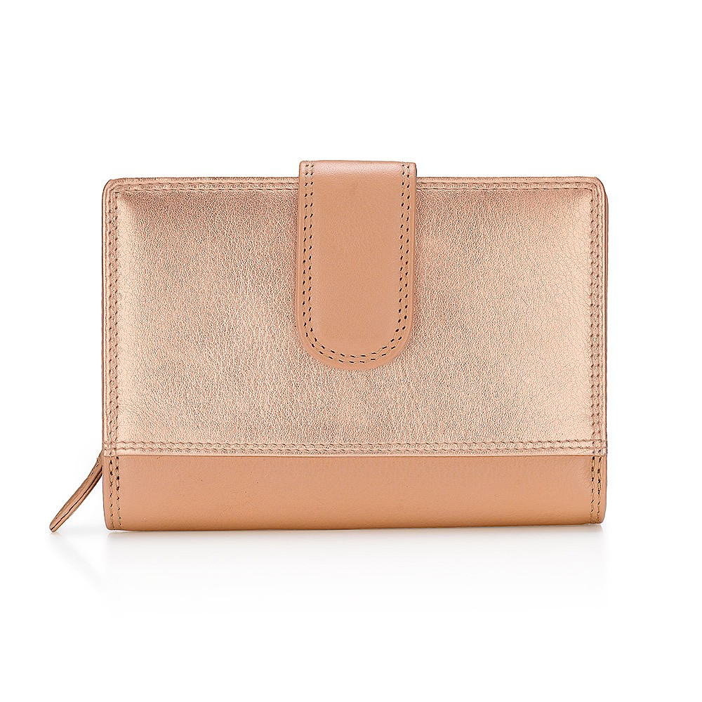 Your Best Side Compact Leather Purse