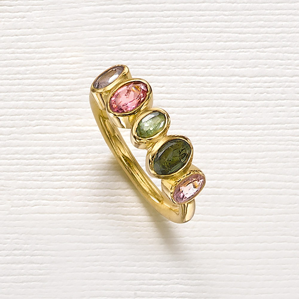 Unchained Melody Tourmaline Ring