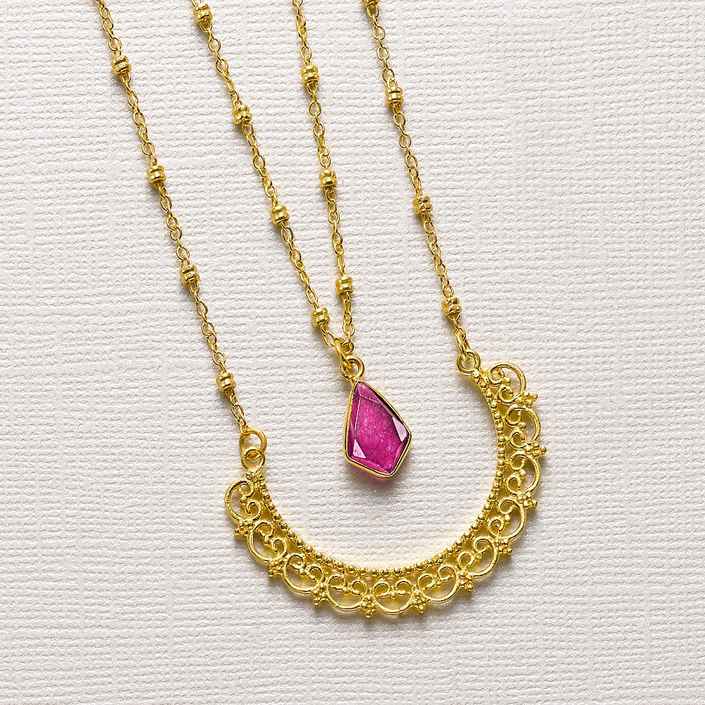 Anastasia Layered Necklace
