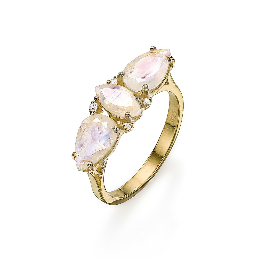 Luna Bella Moonstone Ring