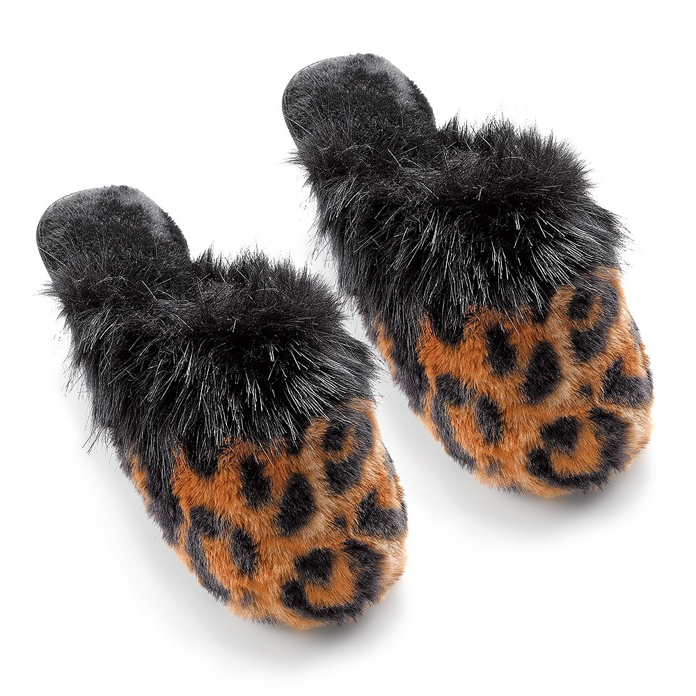 Walk on the Wild Side Slippers
