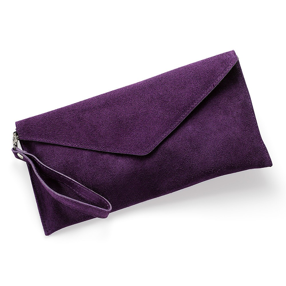 Bewitch Me Suede Clutch Bag