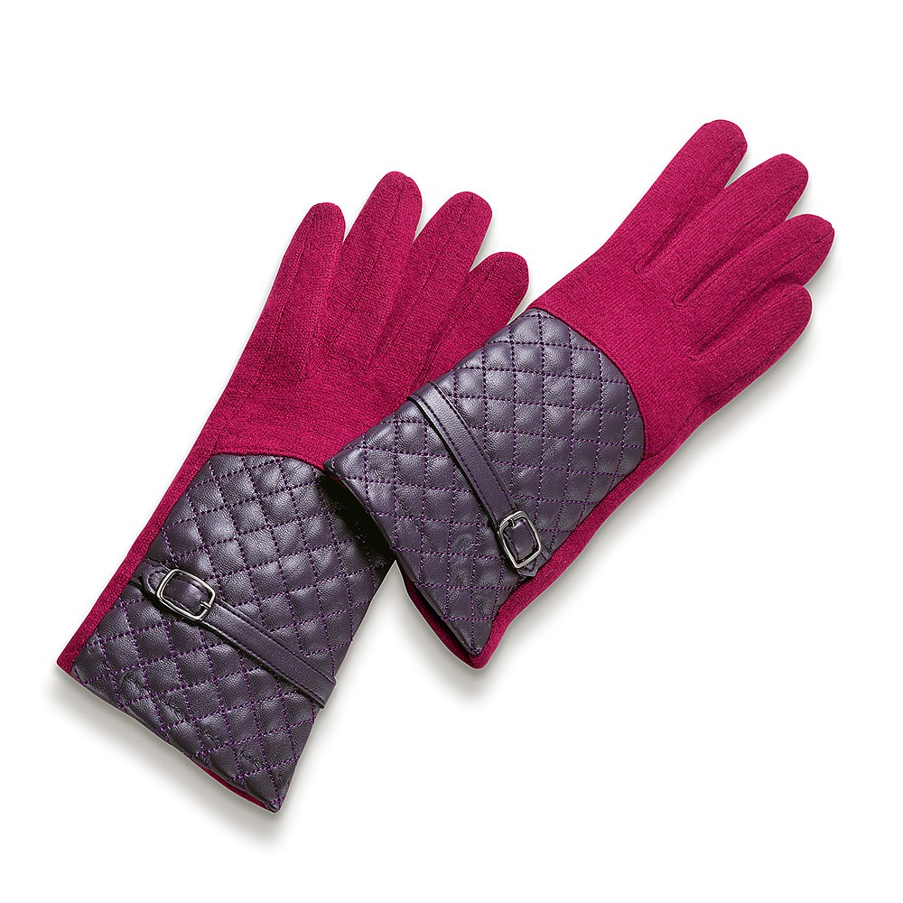 Got a Hold on Me Raspberry Pink Gloves