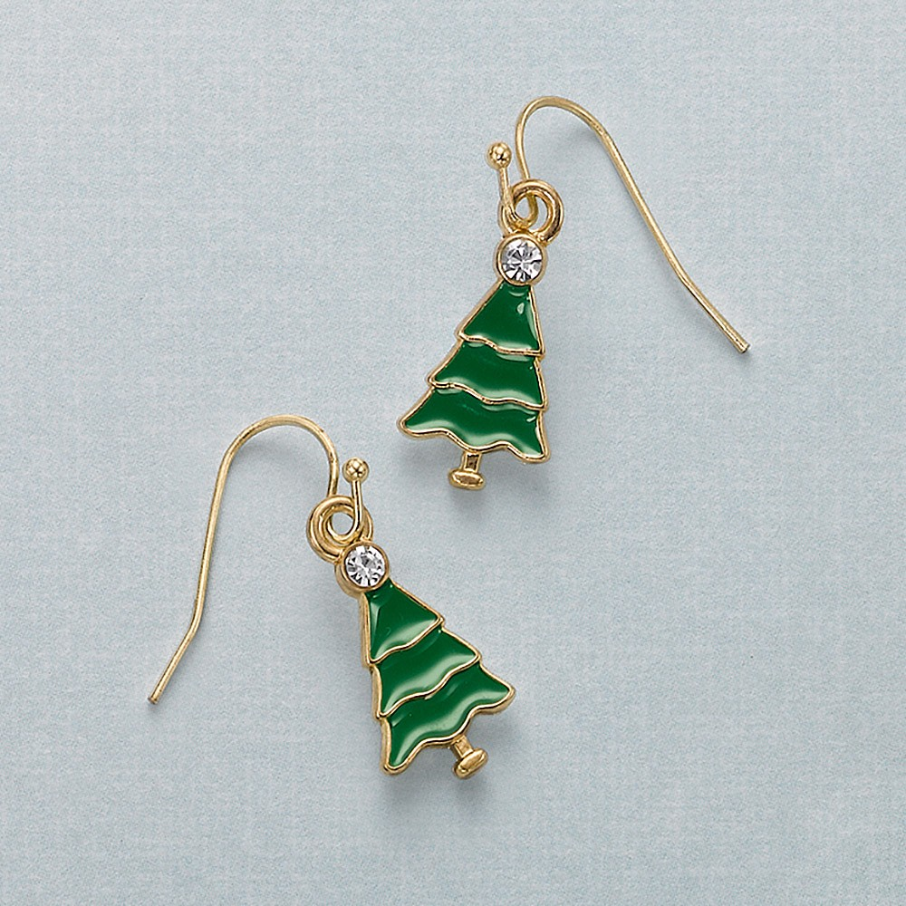 Trim the Tree Earrings