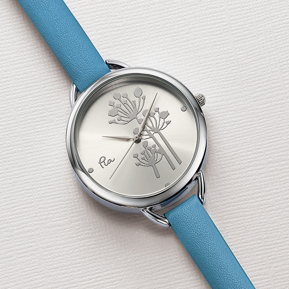 Fields of Joy Leather Watch