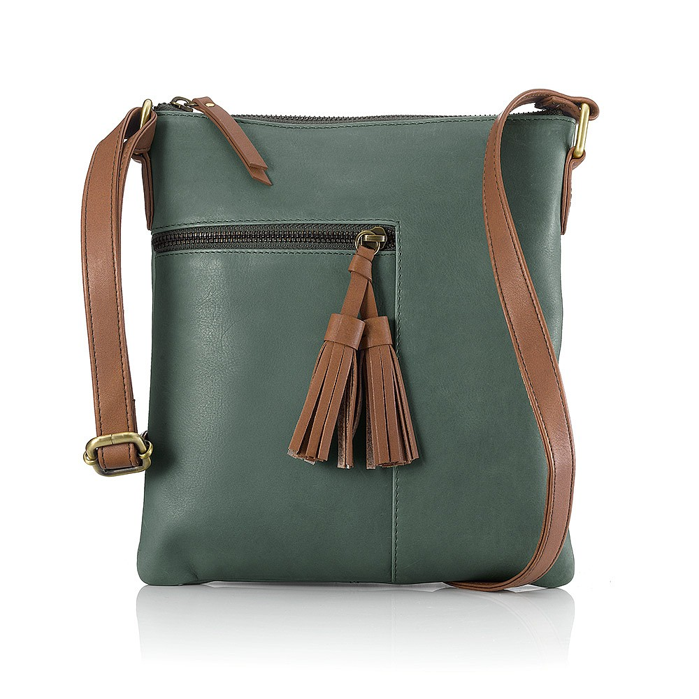 Into the Glades Leather Cross-Body Bag