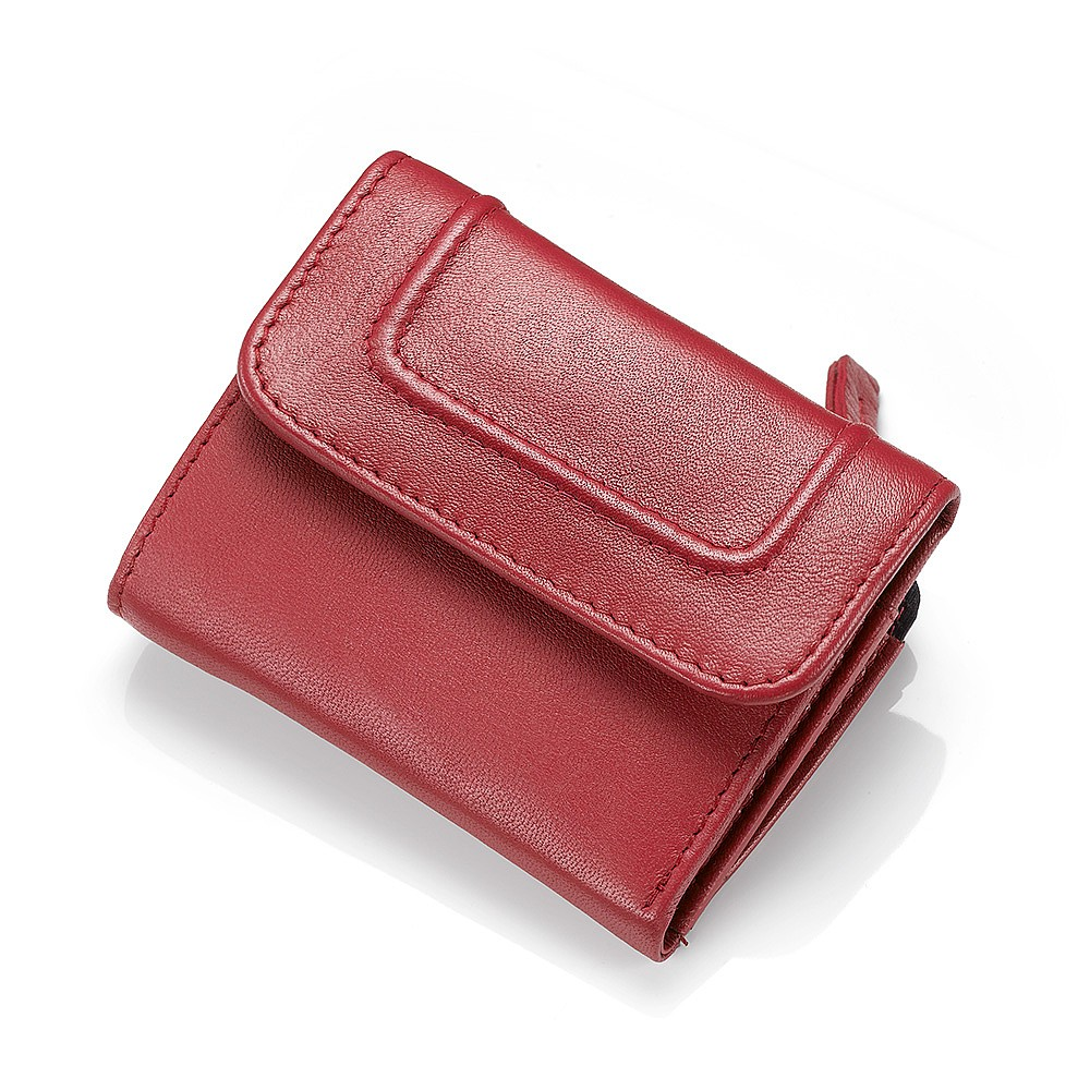 Pop of Paprika Leather Purse