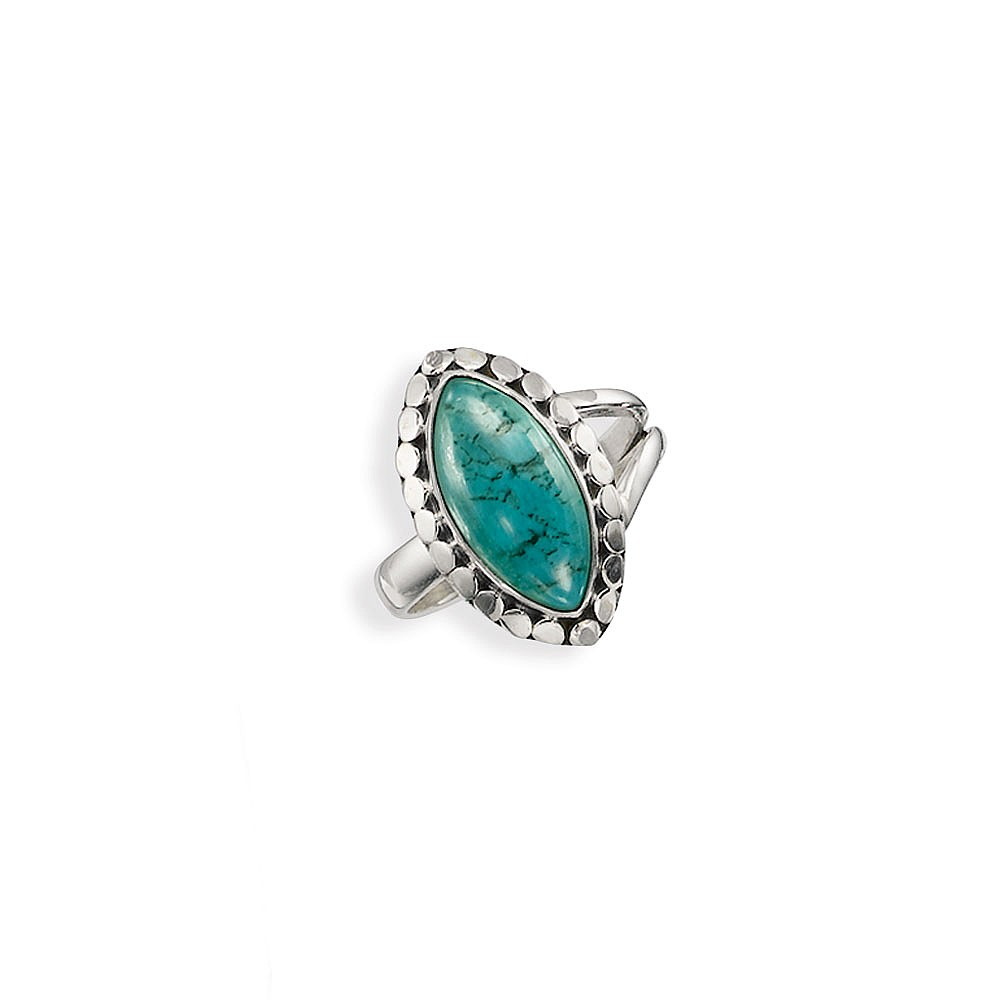 Sea of Fortune Turquoise Ring