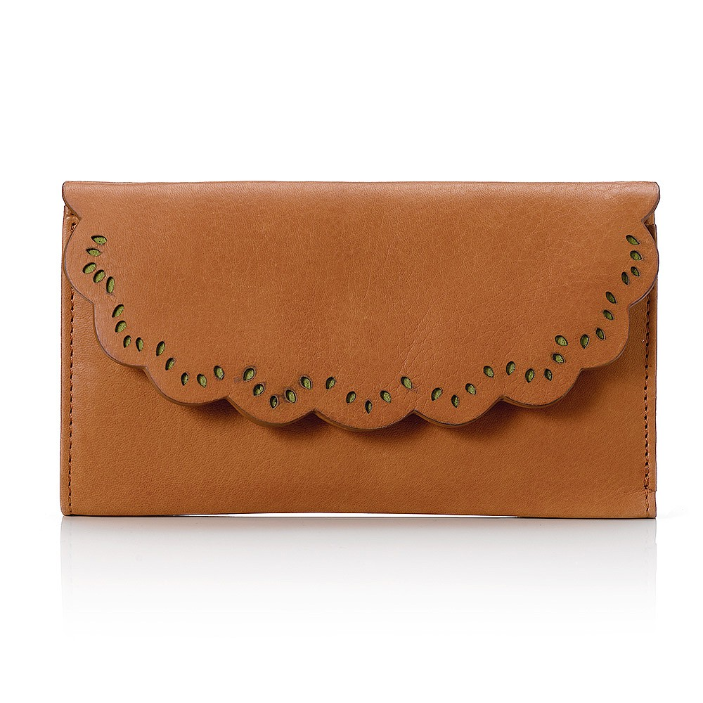 Out of the Woods Leather Purse