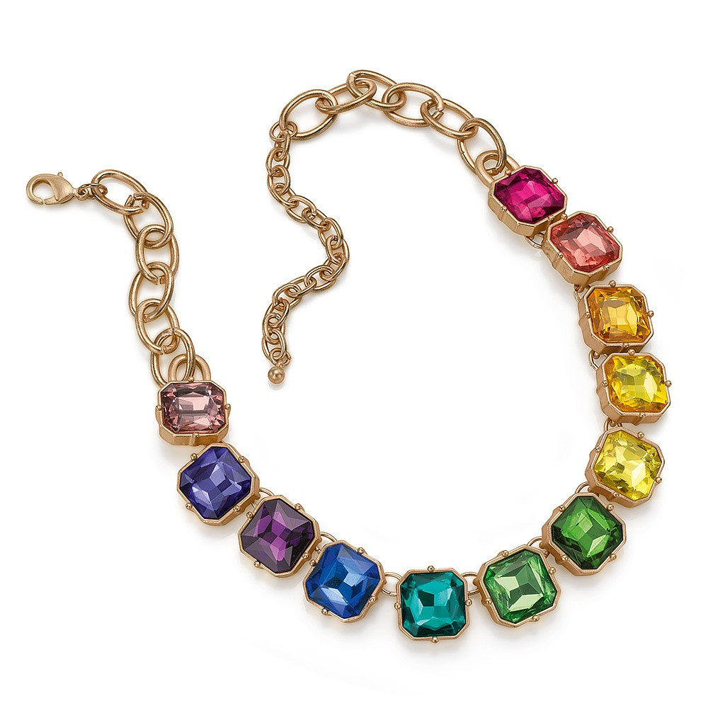 See Your True Colours Crystal Necklace