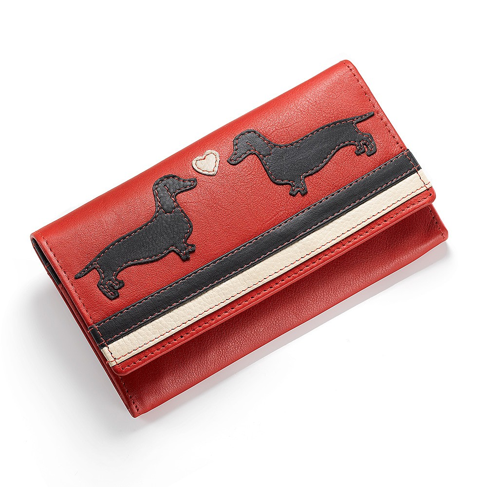 Puppy Love Leather Purse