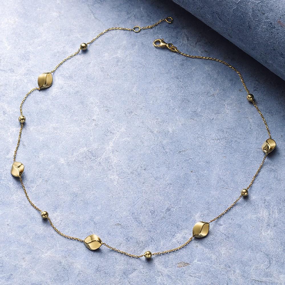 Fashion Jewelry Generous Black Mesh Tube With Acrylic Necklace