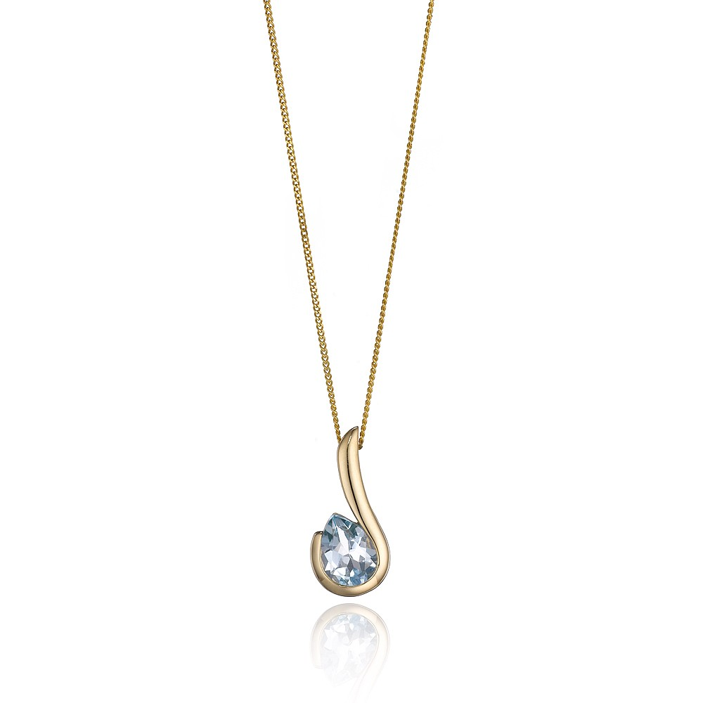 Women's Jewellery Hooked by Topaz Pendant
