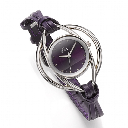 Purple Multi-Strand Watch