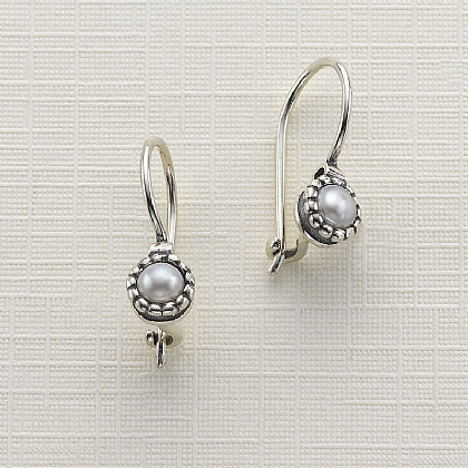 Silvery Light Earrings