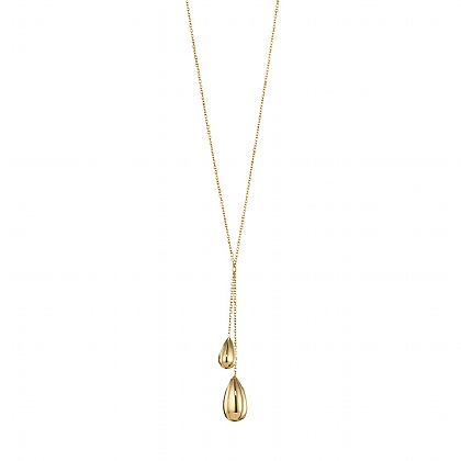 Gold Raindrops Necklace