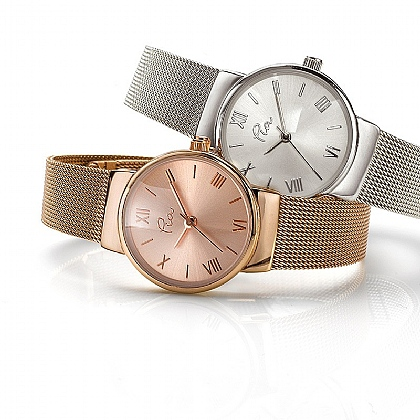Elegant Mesh Watch