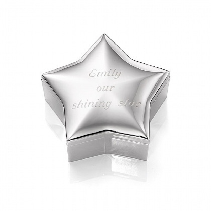 Star Trinket Box - Personalised