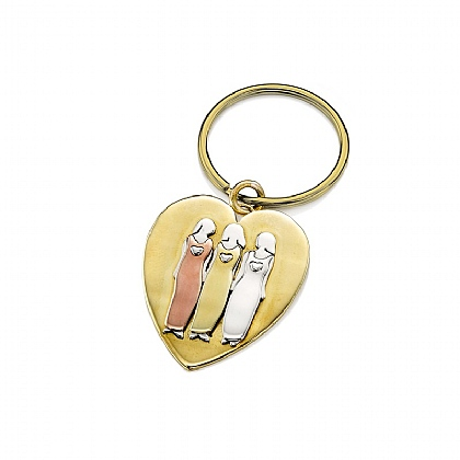 Friends For All Time Keyring