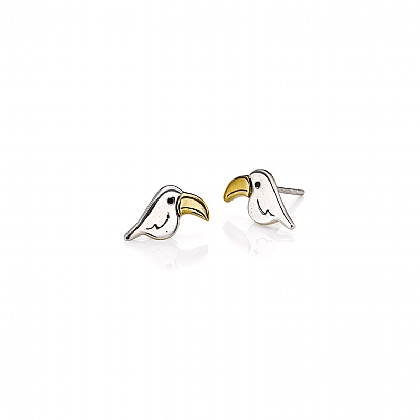 Toucan Tango Stud Earrings