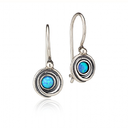 In A Swirl Opalite Earrings