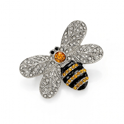 Bee-dazzled Brooch