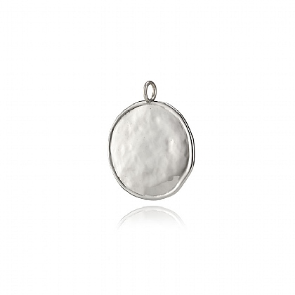 Silver Hammered Disc