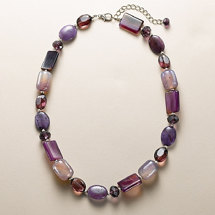 Purple Tones Necklace