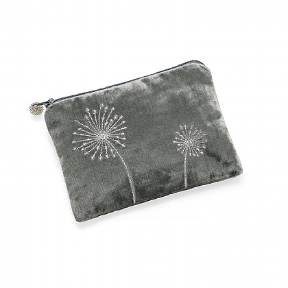 Blowing in the Wind Grey Pouch