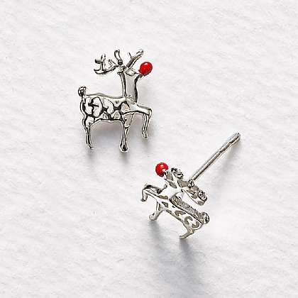 Rudolph Stud Earrings