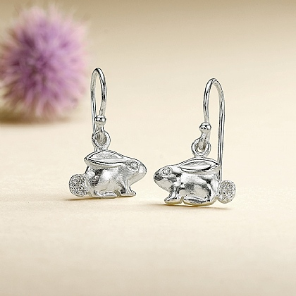 Bunny Drop Earrings