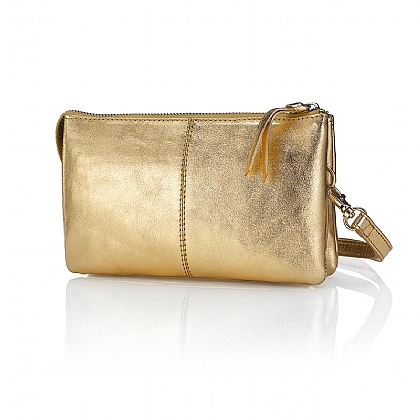 Gold Super Organised Clutch