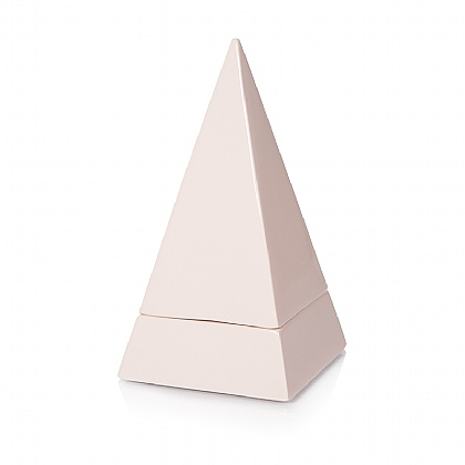 Blush Pyramid Storage Trinket Dish