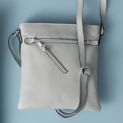 Practically Perfect Grey Cross-Body Bag