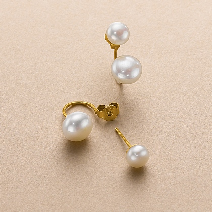 Pearl Ditto Stud Earrings